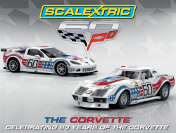 Scalextric 60 Years of Corvette Limited Edition - C3368A