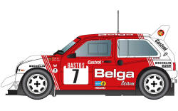 Scalextric MG Metro 6R4 - No.7 - C3754