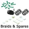 New Slot Car Modellers Shop - Model Scalextric Braids and Spares - Braids, Magnets, Screws