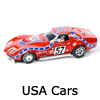 New Slot Car Modellers Shop - Model Scalextric USA Cars - Chevrolet Corvette