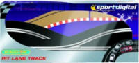 Scalextric Digital - Pit Lane Right Hand - C7015