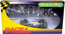 Scalextric Fuel/Wheel Men plus Indy - Silver C8302