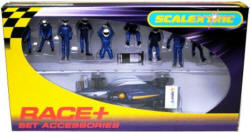 Scalextric Fuel/Wheel Men plus Indy Blue - C8303