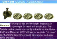 Scalextric Slot Cars - c8420 round guide pk spring